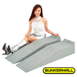 Large Heavy Duty Truck and Car Drive Up Wheel Ramps - 10 Tons - Professional Grade