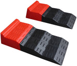 Tandem Axle Leveler Ramps for Camper, RV, Travel Trailer, Caravan or Motorhome - 2 Ramps (One Pair)