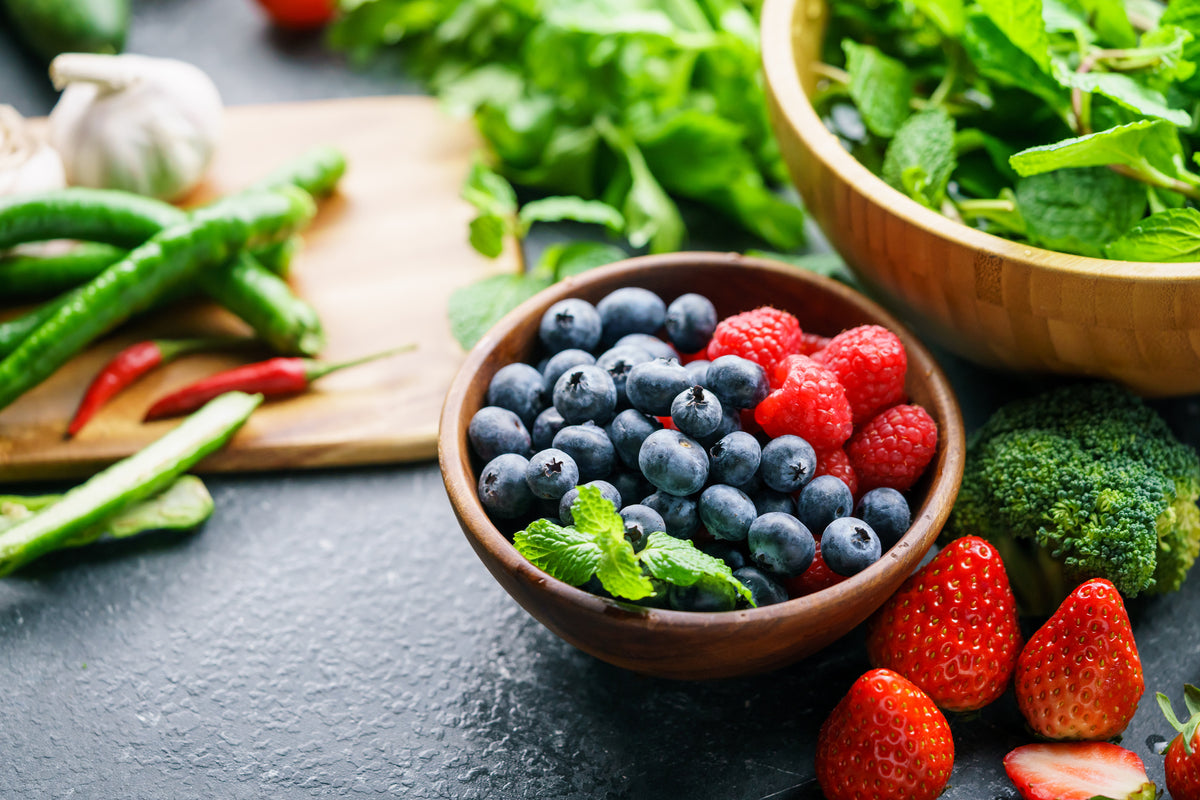 Antioxidant-Rich Foods Lead to a Better Mood