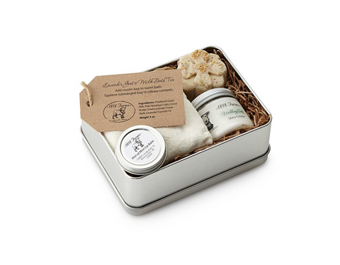 handcrafted spa holiday gift