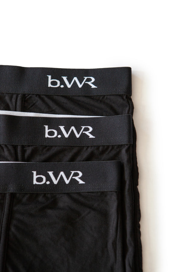 Bamboo Underwear Men - 3 or 5 Pack - Bamboo Boxers For Men BWR - b.WR