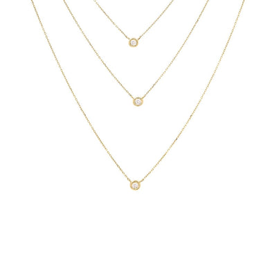 Layer Diamond Necklace