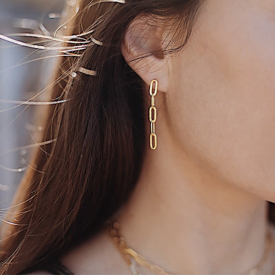 Musha Link Earrings