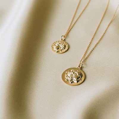 Ambrosia Coin Necklace