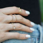 Open Space Ring | 14kt Gold