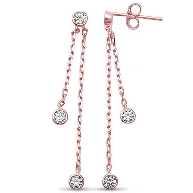 Dangling CZ Earrings
