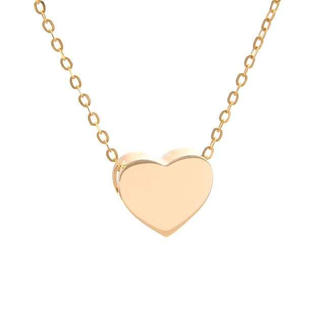 Heart Necklace | 14kt Gold