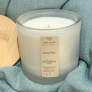 Splash Seasonal Candle | Island Pine