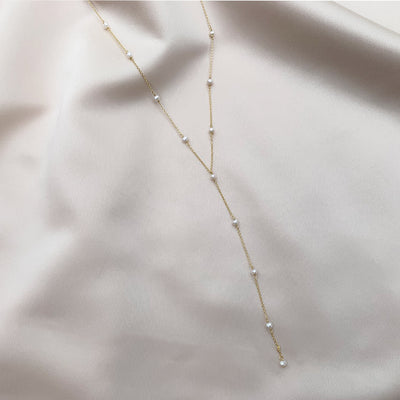 Mermaid Pearl Lariat