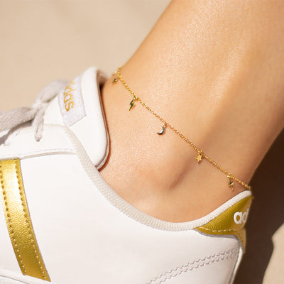 Moon Lighting Anklet