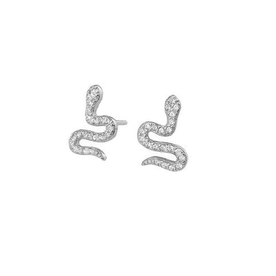 Nagini Pave Earrings