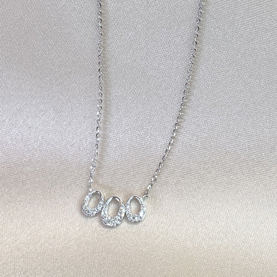 Triple Oval Necklace