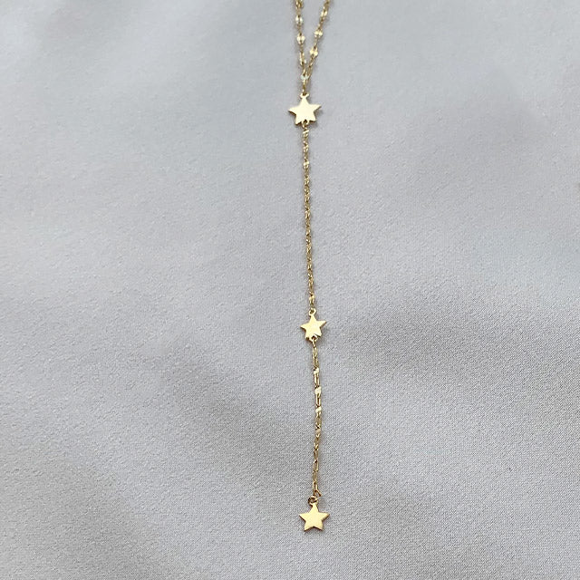 Another Star Lariat Necklace
