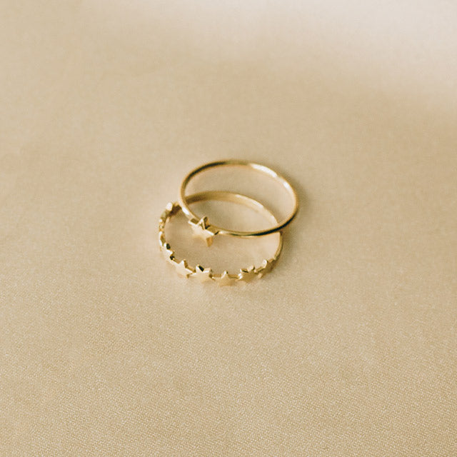 Big Star Ring | 14kt Gold