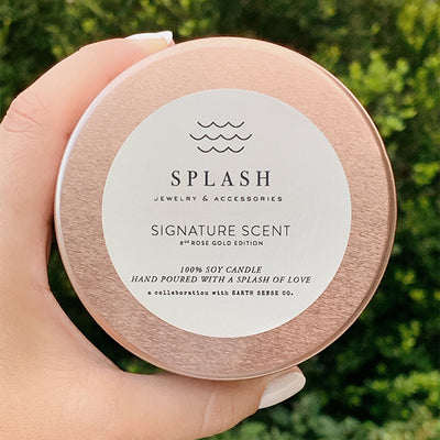 Splash Signature Candle | Rose Gold Edition