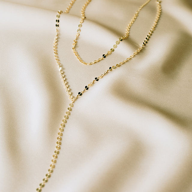 Moondance Lariat Necklace