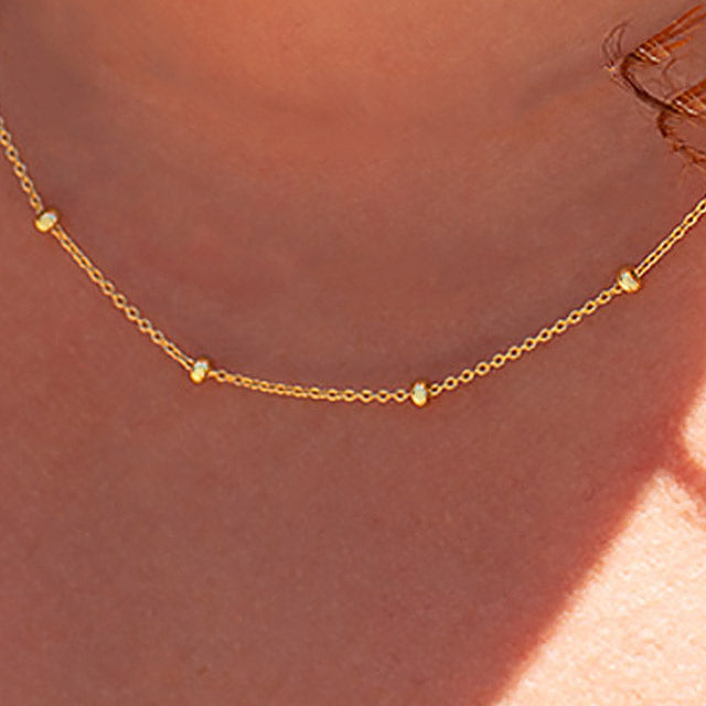 Dream a Little Dream Gold Filled Necklace