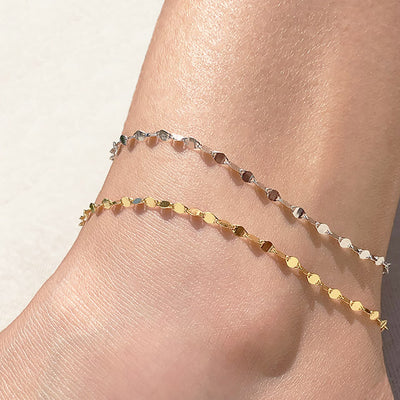 Ribbon In the Sky Anklet