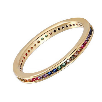 Thin Rainbow Band