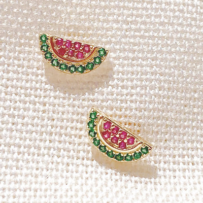 Watermelon Sugar Earring Studs