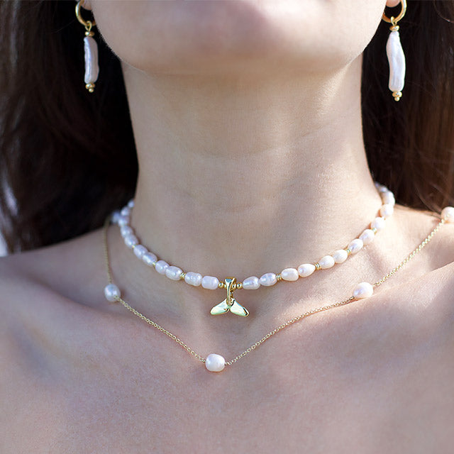 Smooth Operator Pearl Necklace