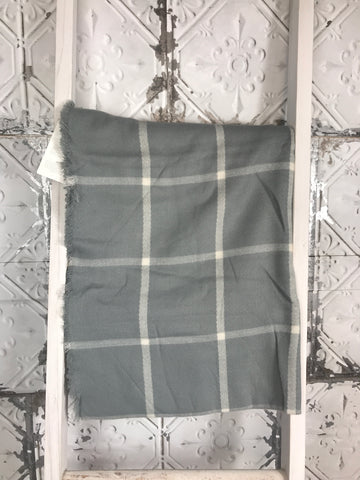 Candice Blanket Scarf-Grey