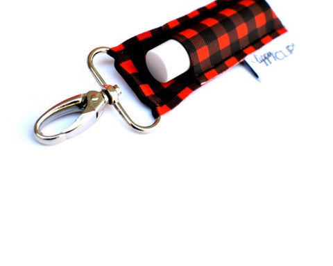 Buffalo Plaid Lippy Clip