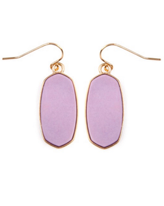 Mel Earrings- Lavender