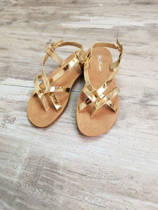 Golden Gia Sandals