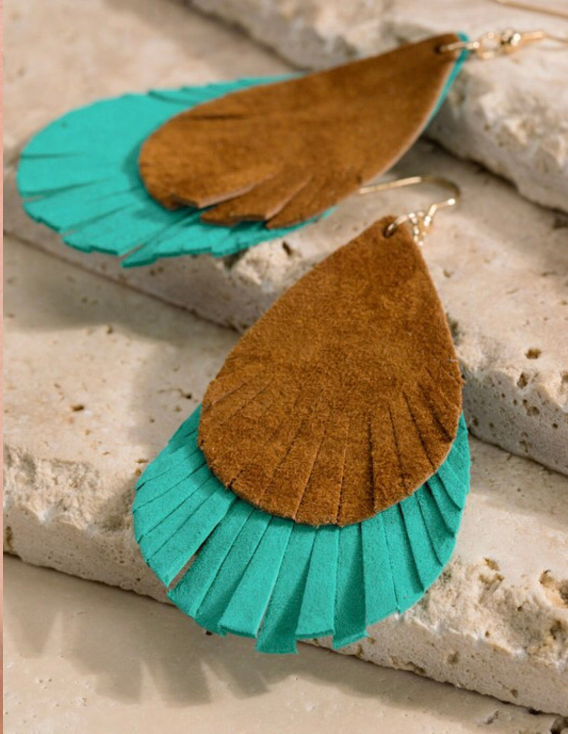 Amadi Earrings- Turquoise