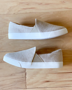 Time Off Canvas Slip-On Sneakers