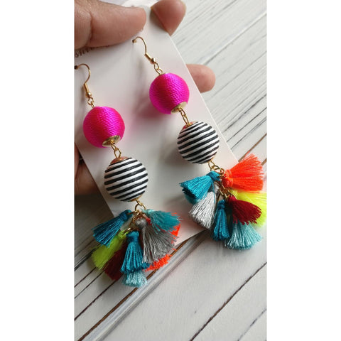 Bon Bon Tassel Earrings