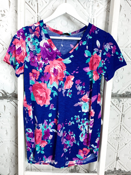 Courtney Floral Top