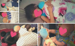 Lulla doll has shown to help foster children