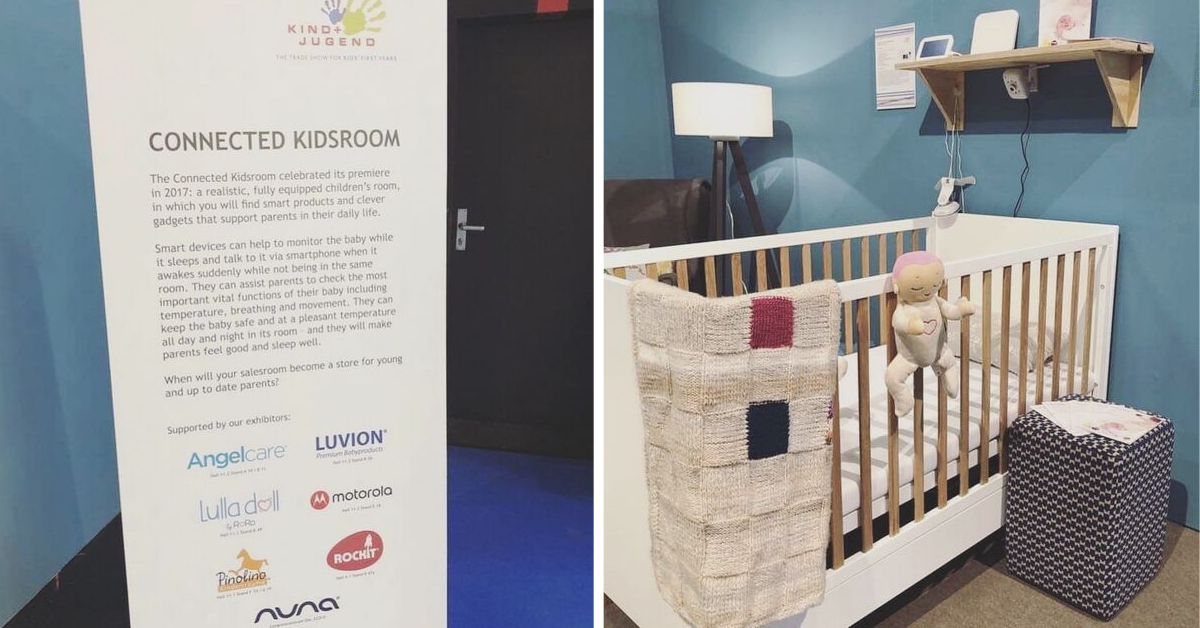 Lulla doll at Connected Kidsroom Kind und Jugend 2019