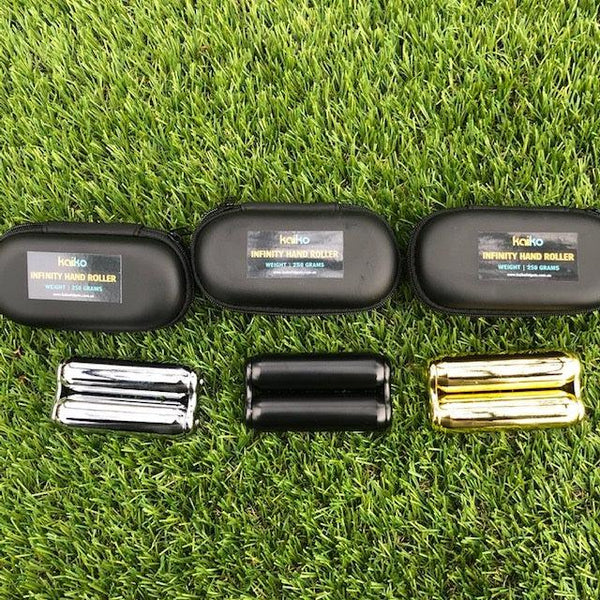 Infinity Handroller 250 gm metallic in black case - BRAND NEW - this is a weighted product