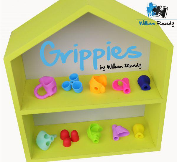 5 x Pencil Grips Set -  Five assorted styles