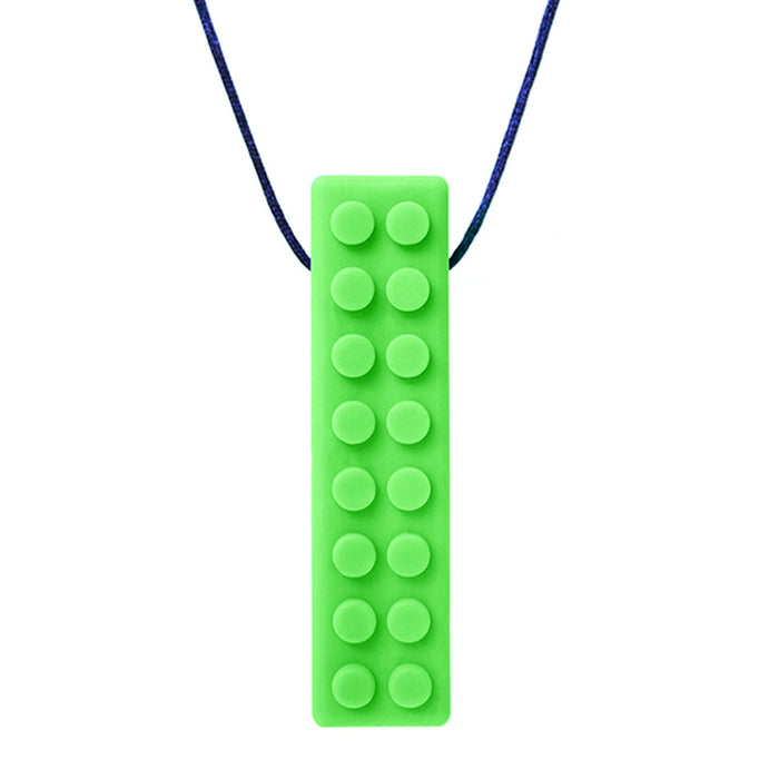 ARK Chewelry  - Chewable UNISEX  BRICK STICK textured Necklace Wearable