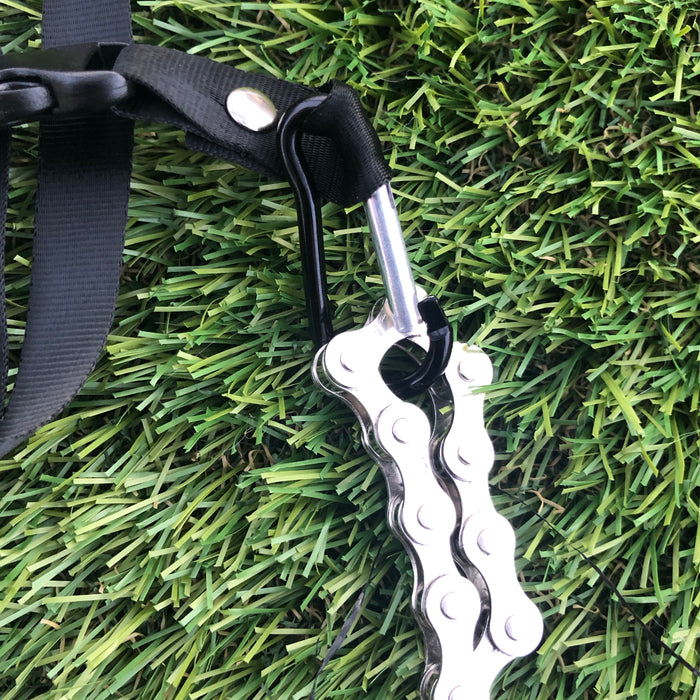 Kaiko Fidget Custom made Lanyard- can hold a number of fidgets in D shackle.  Detachable section also