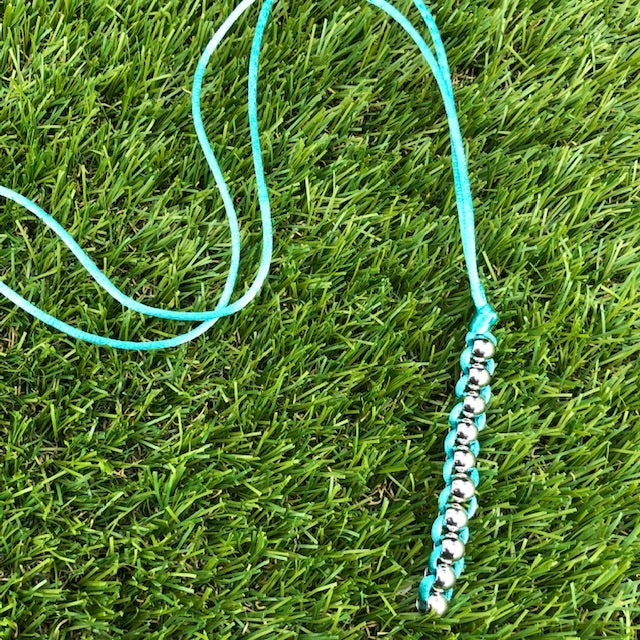 Kaiko Caterpillar Necklace -Unisex -  take everywhere sensory necklace - wear with anything,