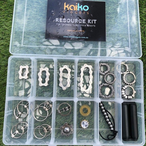 Kaiko Full Sensory Resource Fidget Kit -   Can be customised Valued at $260 save over $60