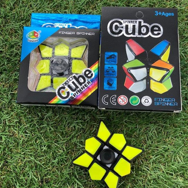Cube Spinner - cube and a spinner in one!