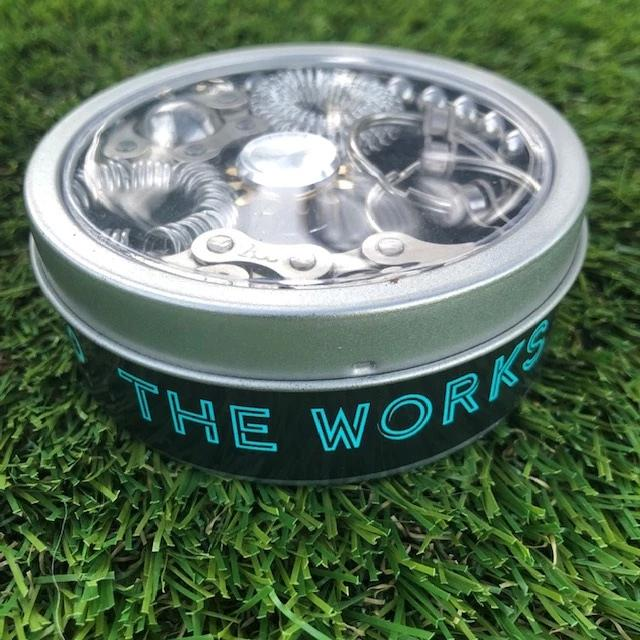 """The Works""  Fidget Kit - try ALL seven best sellers in one tin!  Save $25!"