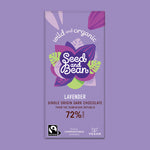 Lavender Extra Dark Chocolate 85g Bar (72% Cocoa)