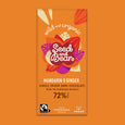 Mandarin & Ginger Extra Dark Chocolate 85g Bar (72% Cocoa)