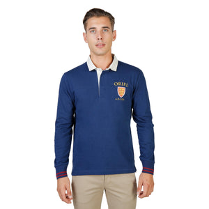 Oxford University Bekleidung Polo blue / S Oxford University - ORIEL-POLO-ML HIRA-fashion