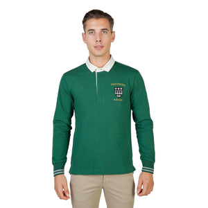 Oxford University Bekleidung Polo green / S Oxford University - ORIEL-POLO-ML HIRA-fashion
