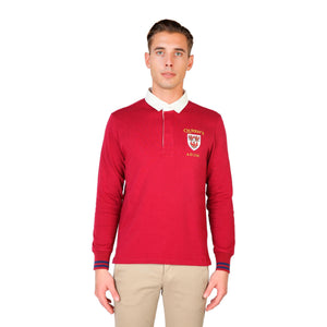 Oxford University Bekleidung Polo red / S Oxford University - ORIEL-POLO-ML HIRA-fashion