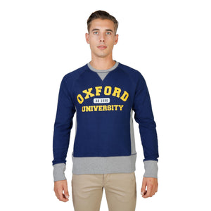 Oxford University Bekleidung Sweatshirts blue / S Oxford University - OXFORD-FLEECE-RAGLAN HIRA-fashion