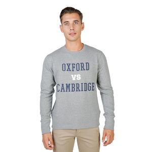 Oxford University Bekleidung Sweatshirts grey / S Oxford University - OXFORD-FLEECE-CREWNECK HIRA-fashion